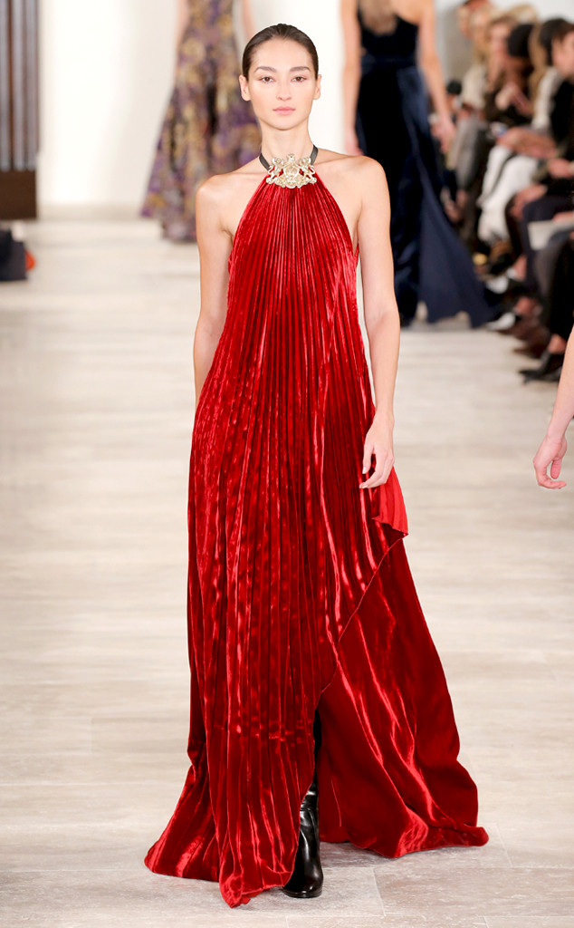 Ralph-Lauren_FW16-Red-Dress
