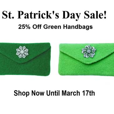 Green handbags for sale